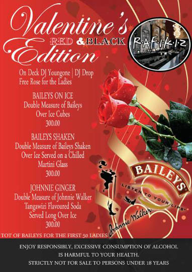 Baileys Valentine's Red & Black Edition - Rafikiz