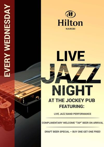 Hilton Jazz wednesday
