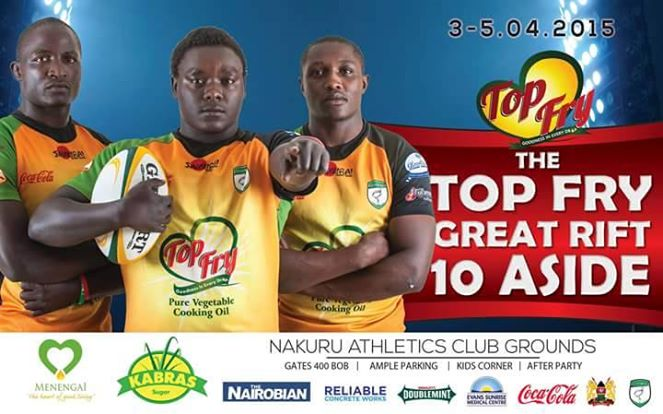 The Top Fry Great Rift 10 Aside Rugby Tournament