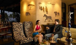 Zebra Square Bar & Piano Lounge at Diani Beach Reef Resort & Spa