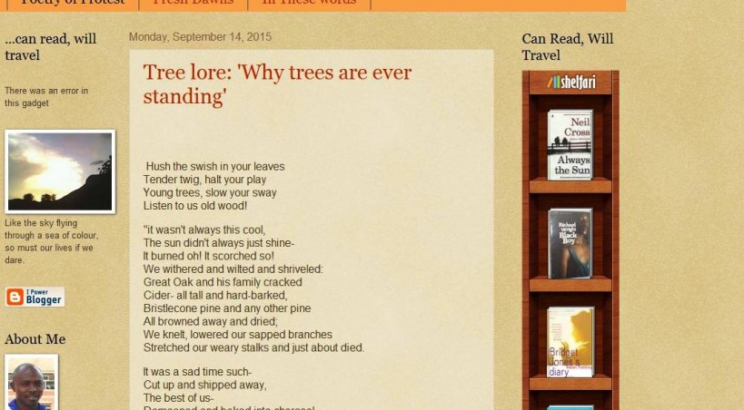 Uprisingwriting | Tree lore: 'Why trees are ever standing'