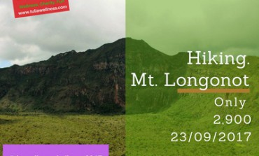 The Wellness Challenge, Hiking at Mt. Longonot
