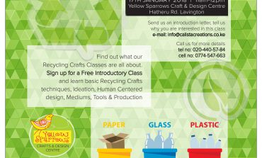 Recycling Crafts 101-Classes