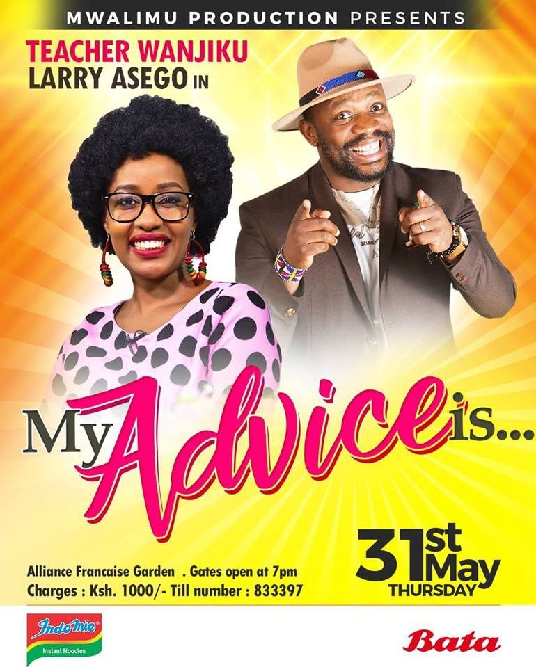 Stand Up Comedy With Teacher Wanjiku And Larry Asego