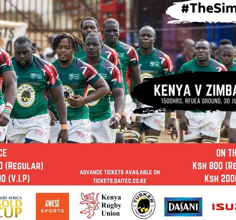 The Africa Gold Cup:Kenya Vs Zimbabwe