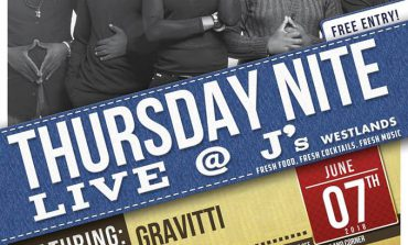 Roots Intl presents Gravitti in Concert Thursday Nite Live at Js
