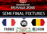 Semi-Final Worldcup Fixtures