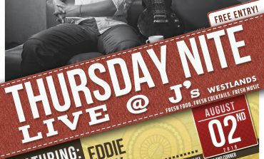 Thursday Nite Live @J's Featuring eddie Grey