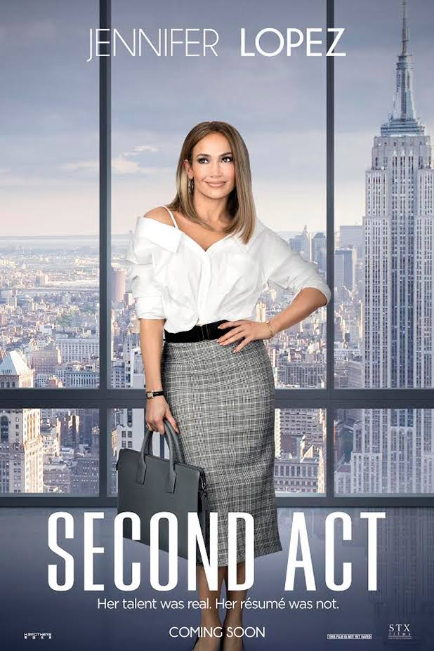 """Coming Soon""""Second Act"""" by Jeniffer Lopez"""