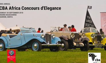 48th Annual CBA Africa Concours d'Elegance (2018)