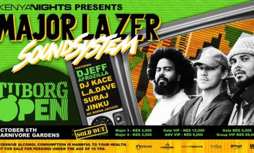Major Lazer In Kenya For A Show Of A Lifetime