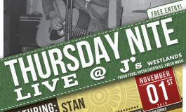 Thursday Nite Live @ J's Featuring Stan