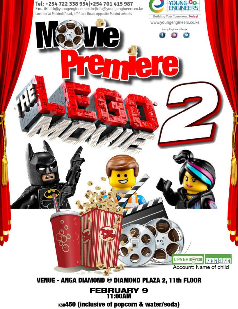 Lego Movie Premiere