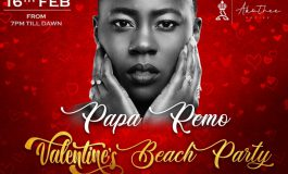 Valentines Beach Party Featuring Madam Boss