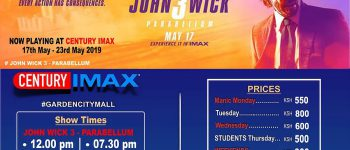 Here is the Imax Garden City Schedule 17th-23rd May