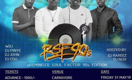 Reminisce Soul Factor 90s Edition featuring All The Big Names Is Here