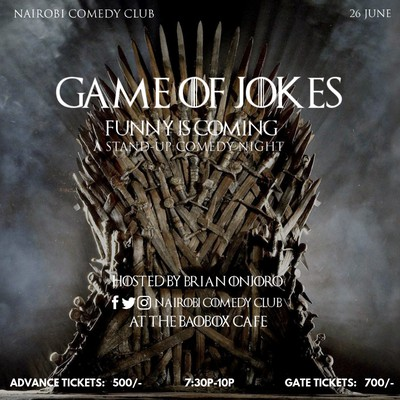 Game Of Jokes,Funny Is Coming