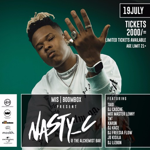 Rap Sensation Nasty C At The Alchemist Bar This Friday