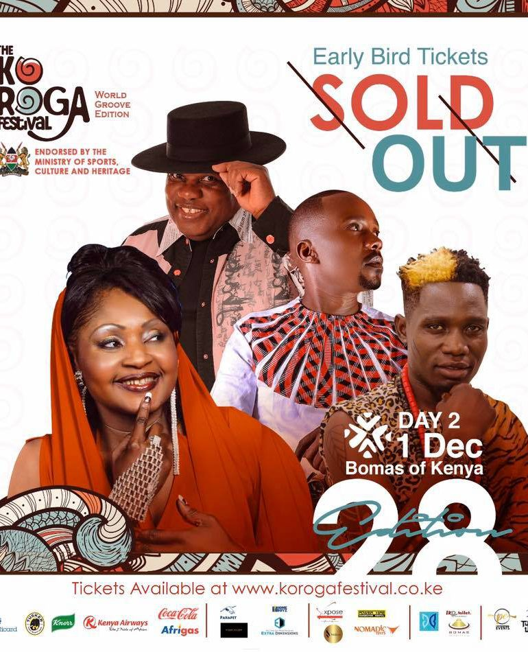 Here is The 28th Edition of The Koroga Festival Day 2 Info